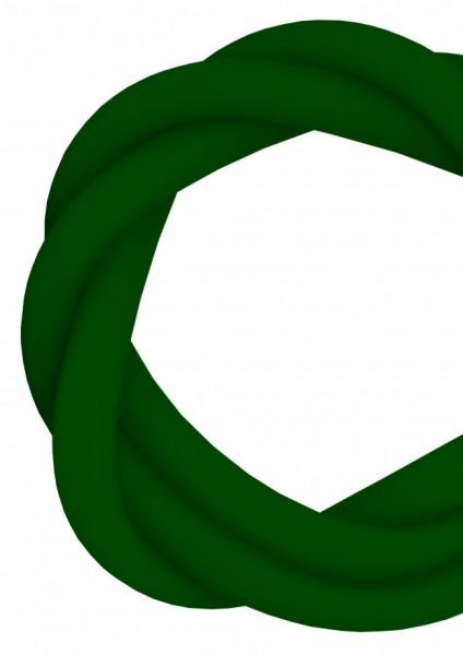 Silikonschlauch - Green - MATT