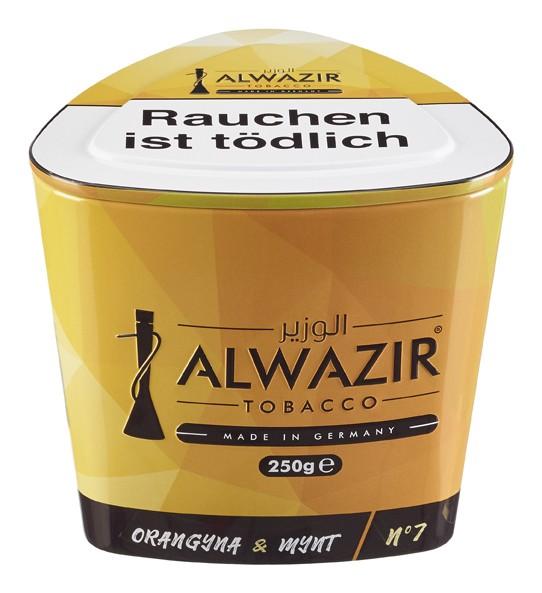 Al Wazir - Orangyna & Mynt (No.7) - 250g
