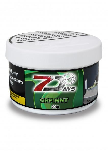 7Days Platin - GRP-MNT - 200g