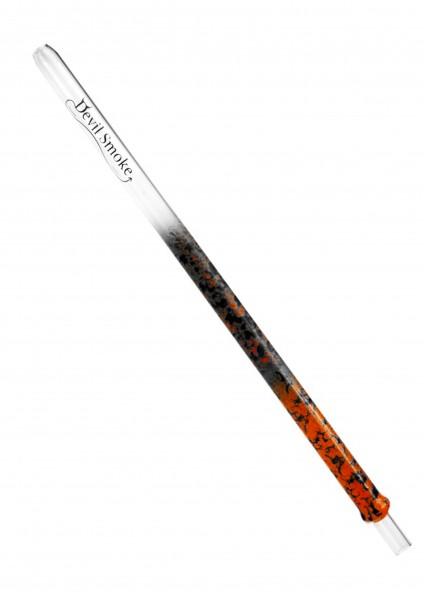 Devil Smoke - Crossed Double Leopard - neon orange/schwarz