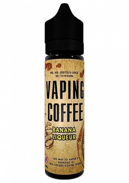 VoVan Liquid Coffe - Bananen Liquor - 50ml/0mg