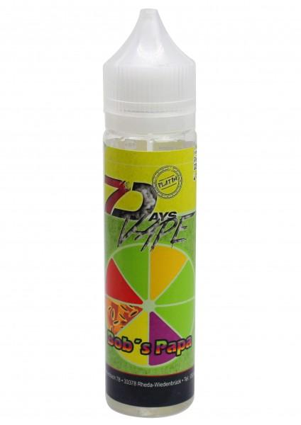 7Days Liquid - Bob's Papa - 50ml/0mg