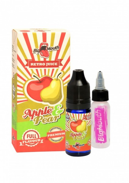 Big Mouth Retro Juice - Apple & Pear - 10ml