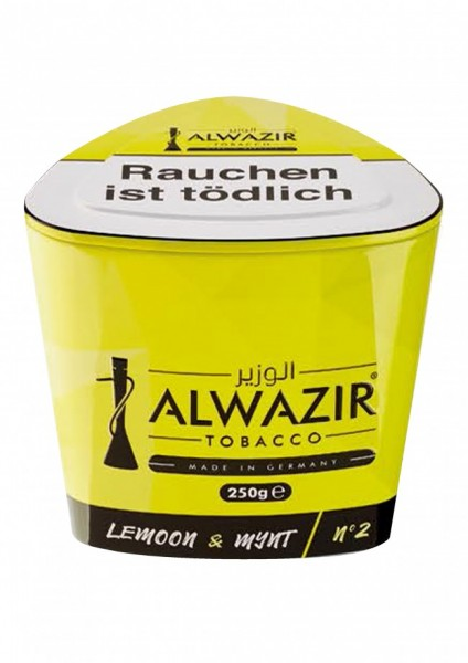Al Wazir - Lemoon & Mynt (No.2) - 250g