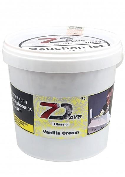 7Days Classic - Vanilla Cream - 1000g