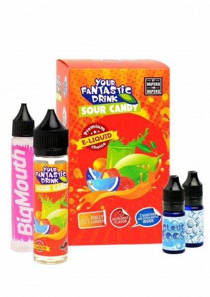 Big Mouth Liquid - Your Fantastic Drink : Sour Candy - 50ml/0mg