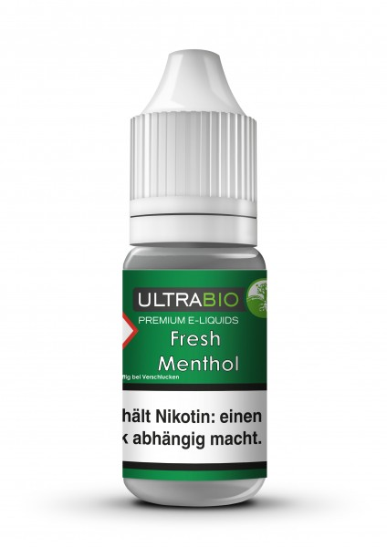 Ultrabio - Fresh Menthol - 10ml/0mg