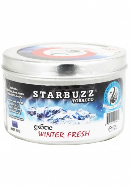 Starbuzz - Exotic Winter Fresh - 200g