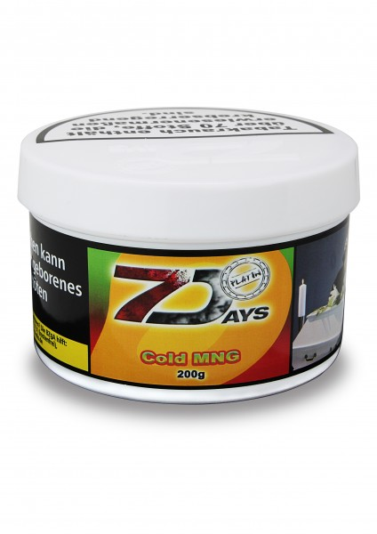 7Days Platin - Cold MNG - 200g