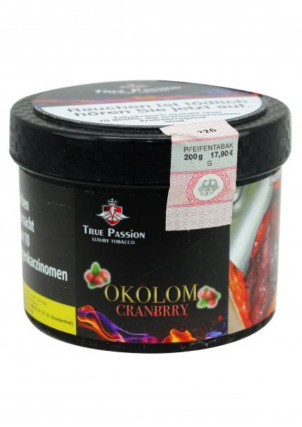 True Passion - Okolom Cranbrry - 200g
