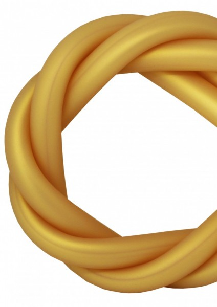 Silikonschlauch - Gold - MATT