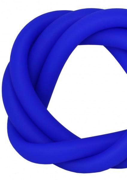 Silikonschlauch - Transparent Blue - MATT