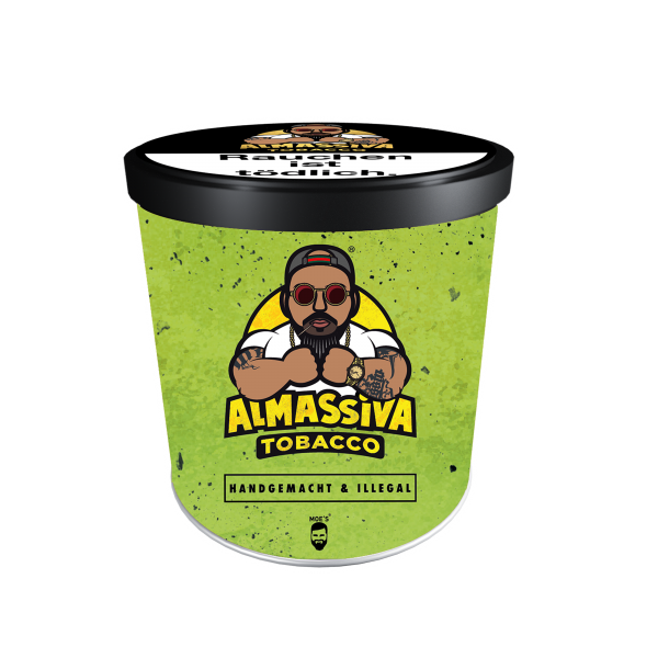 ALMASSIVA Tobacco - Handgemacht & Illegal - 200g