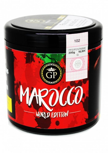 Golden Pipe Worldedition - Marocco - 200g