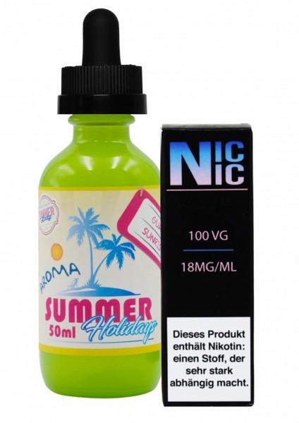 Summer Holidays - Guava Sunrise - 60ml inkl. Nic-Shot