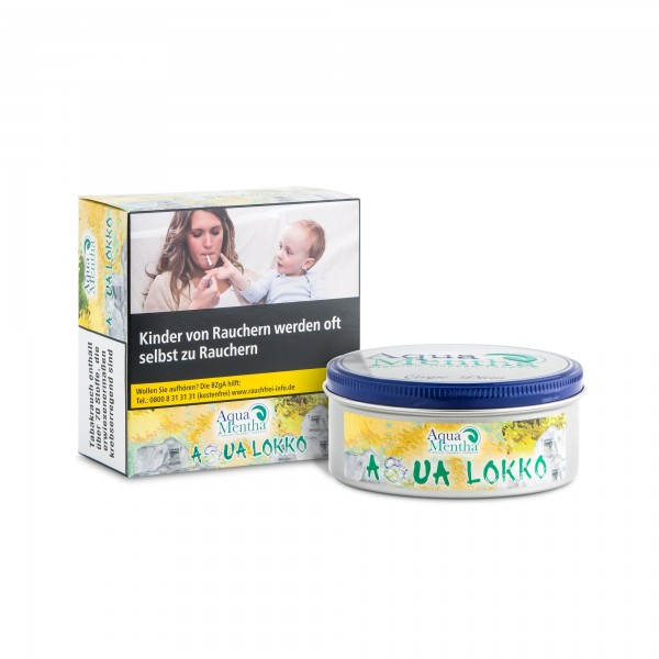 Aqua Mentha Premium Tobacco - Aqua Lokko - 200g