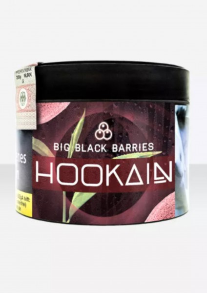 HOOKAIN - Big Black Barries - 200g