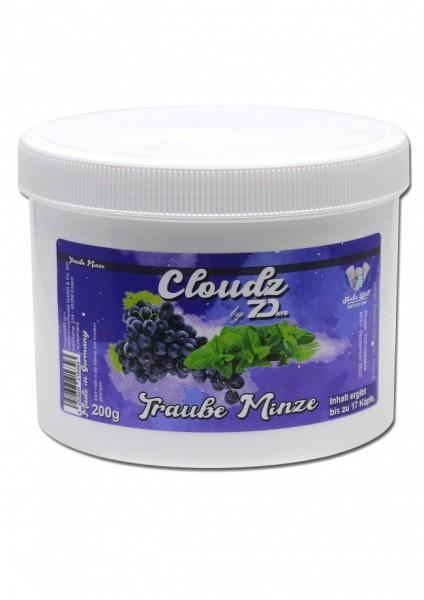 Cloudz by 7Days - Traube Minze - 200g
