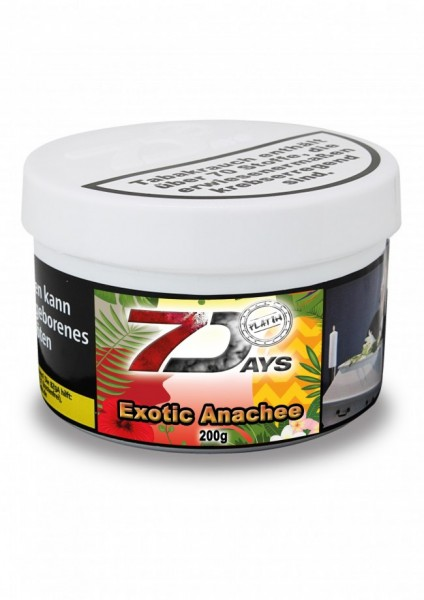 7Days Platin - Exotic Anachee - 200g