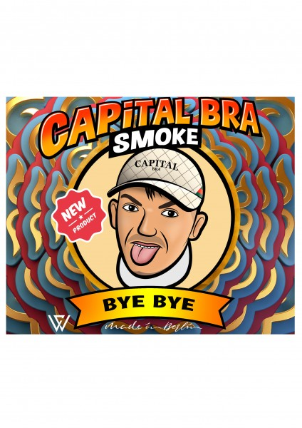 Capital Bra Smoke - Bye Bye - 200g