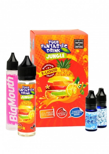 Big Mouth Liquid - Your Fantastic Drink : Jungle - 50ml/0mg
