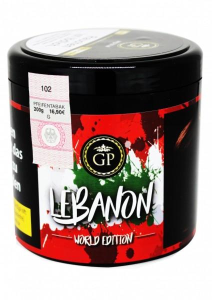 Golden Pipe Worldedition - Lebanon - 200g