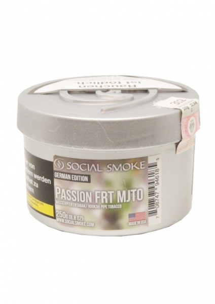 Social Smoke - Passion FRT MJTO - 250g