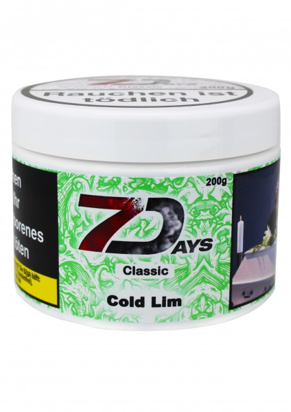 7Days - Cold Lim - 200g