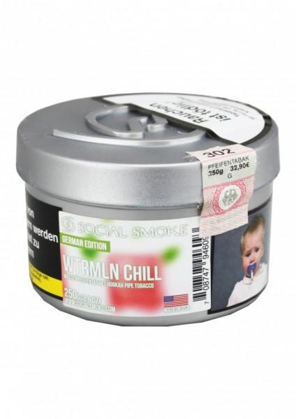 Social Smoke - WTRMLN Chill - 250g