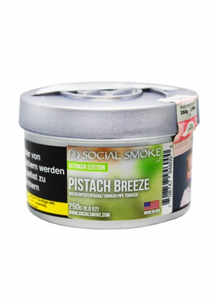 Social Smoke - Pistach Breeze - 250g