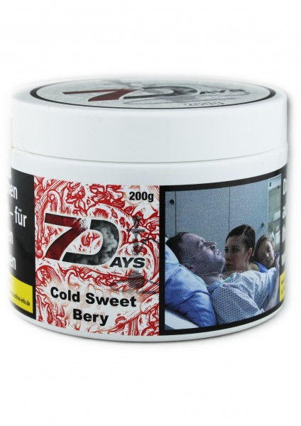 7Days - Cold Sweet Bery - 200g