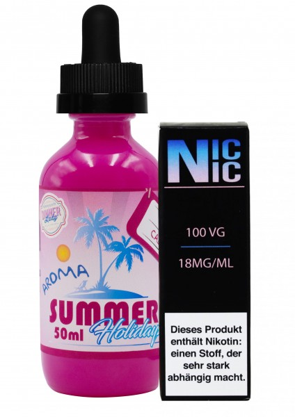 Summer Holidays - Cola Cabana - 60ml inkl. Nic-Shot