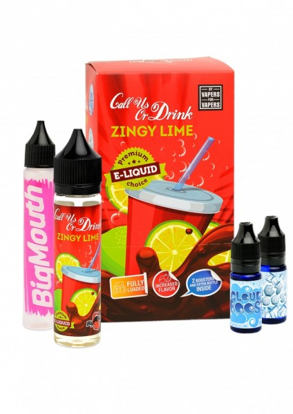 Big Mouth Liquid - Call us or Drink : Zingy Lime - 50ml/0mg