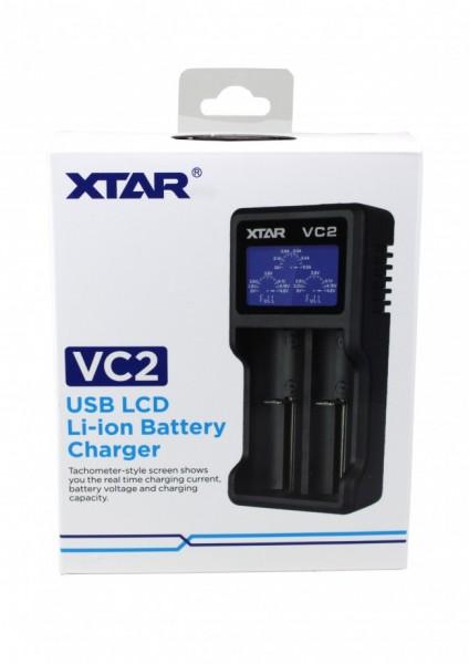 XTAR - VC2 - Akkuladegerät