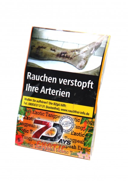 7Days Platin - Exotic Tangpeah - 20g