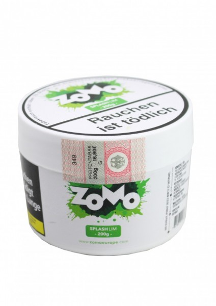 ZOMO Tobacco - Splash Lim - 200g