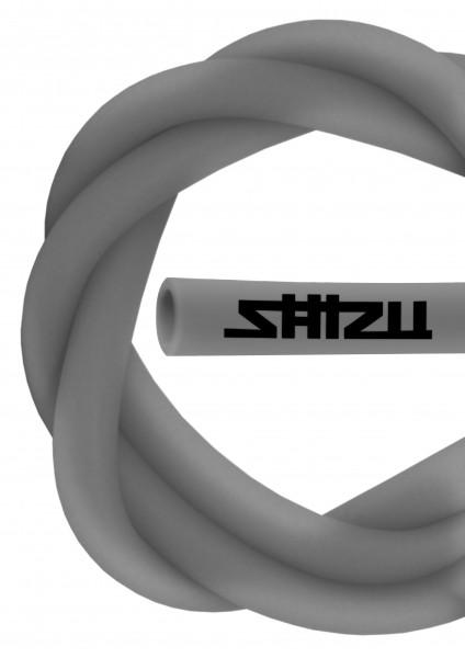 ShiZu Silikonschlauch - Matt - Silver