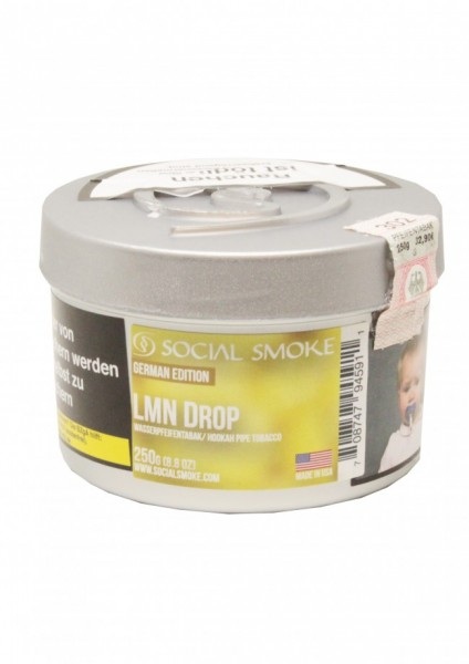 Social Smoke - Lmn Drop - 250g