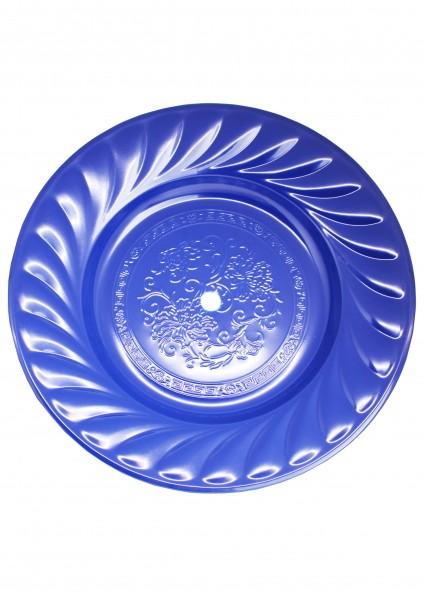 Kohleteller - Extra Groß 40cm - Blau