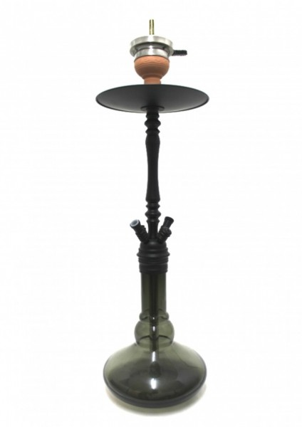 Caesar Shisha - Senfonia - Mat Black / Shining Light Black