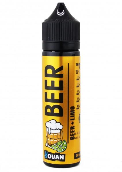 VoVan Liquid BEER - Beer + Lime - 50ml/0mg