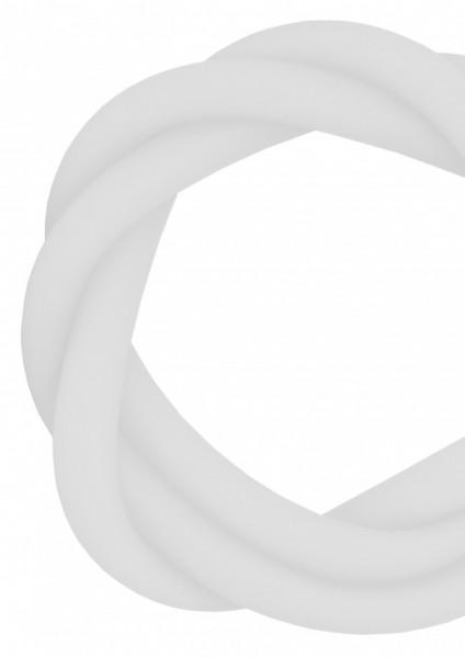 Silikonschlauch - White - MATT