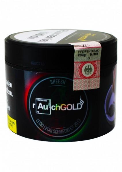 rauchGOLD - Sheesh - 200g