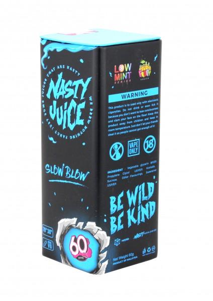 Nasty Juice Liquid - Slow Blow - 50ml/0mg