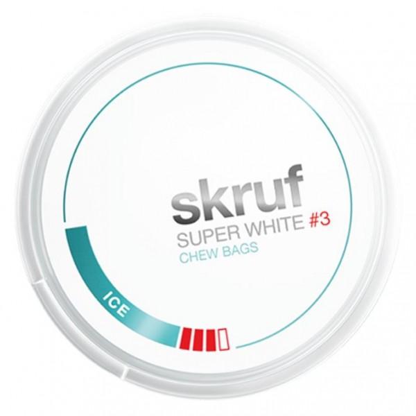 Skruf - Superwhite Ice Slim #3 - Dose