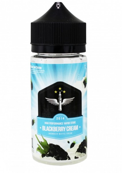 HPVS Liquid - Blackberry Cream - 80ml/0mg