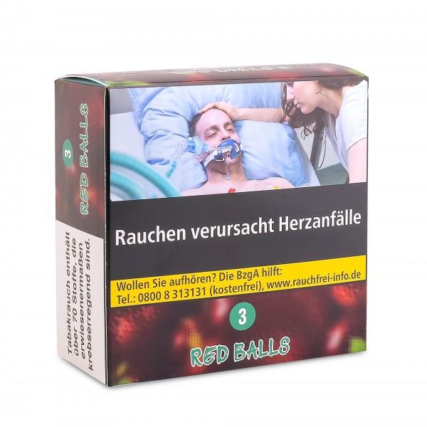 Aqua Mentha Premium Tobacco - Red Balls (3) - 200g