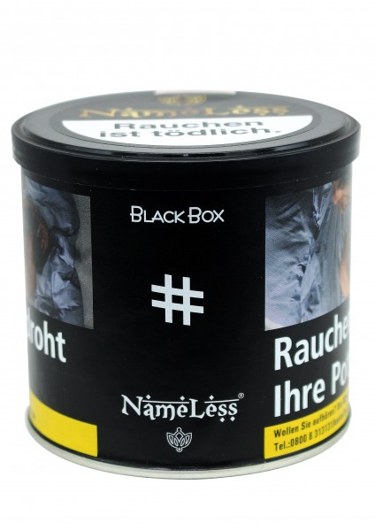 NameLess Special Edition - Black Box - 200g