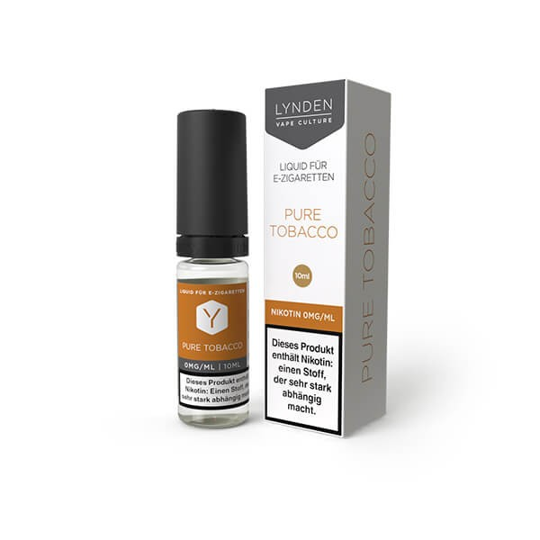 Lynden Liquid - Pure Tobacco 12mg Nikotin - 10ml