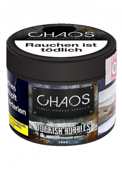Chaos - Turkish Bubbles - 200g